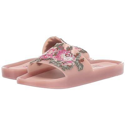 Melissa Shoes Beach Slide Flower (Pink/Green) Women
