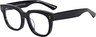 Retro Blue Light Blocking Glasses Frames for Men/Women,...