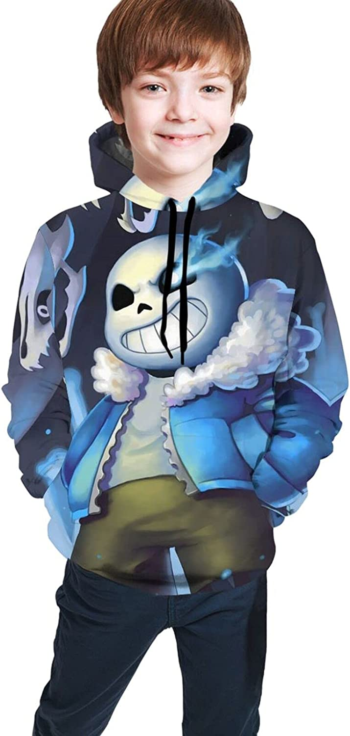 Undertale Sans Boy's Pullover Casual Pullovers