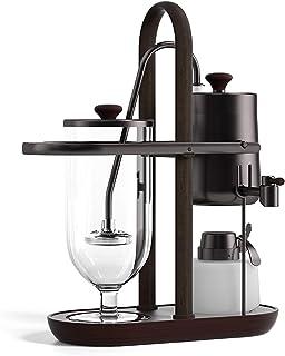 BNMY Machine à café sous vide avec siphon pour cafetière royale belge Noir