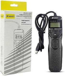 D610 D810 D700 D3200 D5000 D750 Disparador Remoto para Nikon con 2 Cables D600 Pixel TW-283 DC0 // DC2 Obturador inal/ámbrico Control Remoto para c/ámara Digital Nikon DSLR D3100 D3300 D7200
