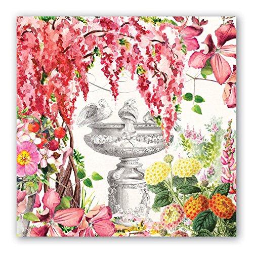 Michel design Works piatto piano in melamina Papillon