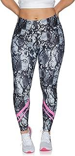 Rockwear Activewear Women's Mono Pop Fl Bonded Print Tight Mono Pop 16 from Size 4-18 for Full Length High Bottoms Leggings + Yoga Pants+ Yoga Tights
