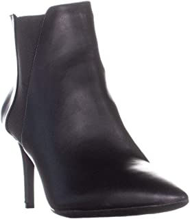 INC International Concepts I35 Irsia Pointed Toe Ankle Boots, Black