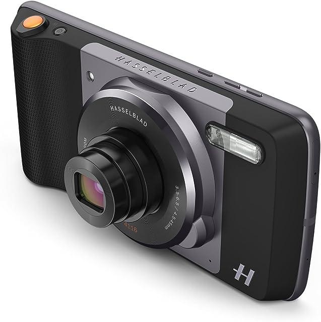 Moto Mod - Zoom Hasselblad (Zoom óptico 10x y Flash Xenon) Color Negro