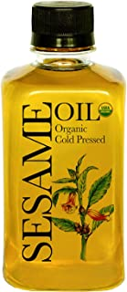 Daana Organic Sesame Oil for Skin: Extra Virgin, Cold Pressed (12 fl oz)
