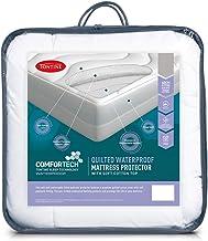 Tontine T6115 Comfortech Quilted Waterproof Mattress Protector, Queen