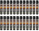 Lot de 24 Mousses de montage polyuréthane - Avec tuyau pulvérisateur - 750 ml