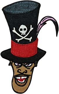Witch Doctor Facilier Iron On Patch Princess & the Frog Disney Villain Applique