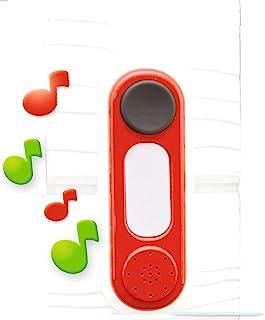 Smoby – elektronische Türklingel – Klingel für Gartenhaus, Spielklingel zum Nachrüsten, einfache Montage, passend für die meisten Smoby Spielhäuser