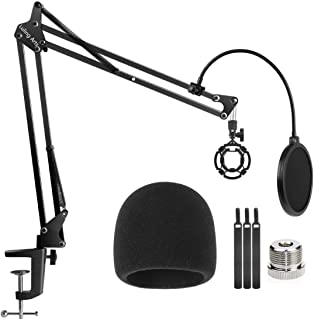 Microphone Stand for Blue Yeti and Blue Yeti Pro with Mic...