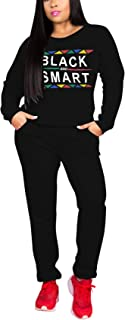 Women's 2 Piece Outfits - Stripe Patchwork Sweatsuits Long Sleeve Pullover Sweatshirt Skinny Long Pants Tracksuit Set