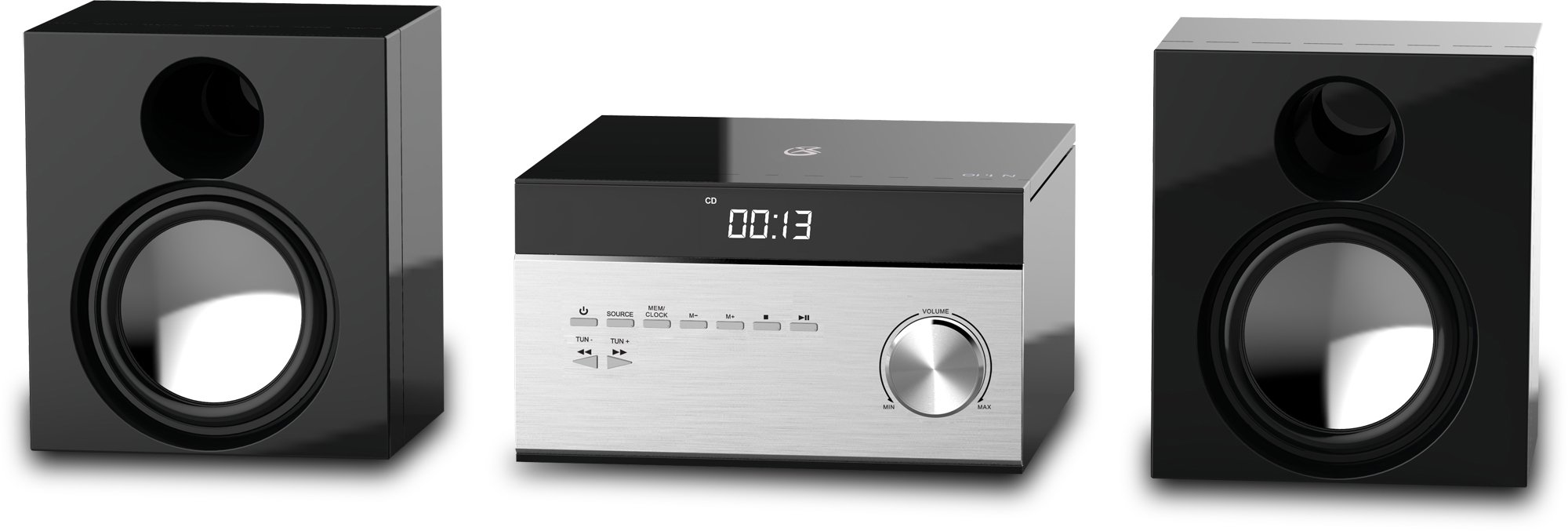 GPX HC225B Stereo System Control
