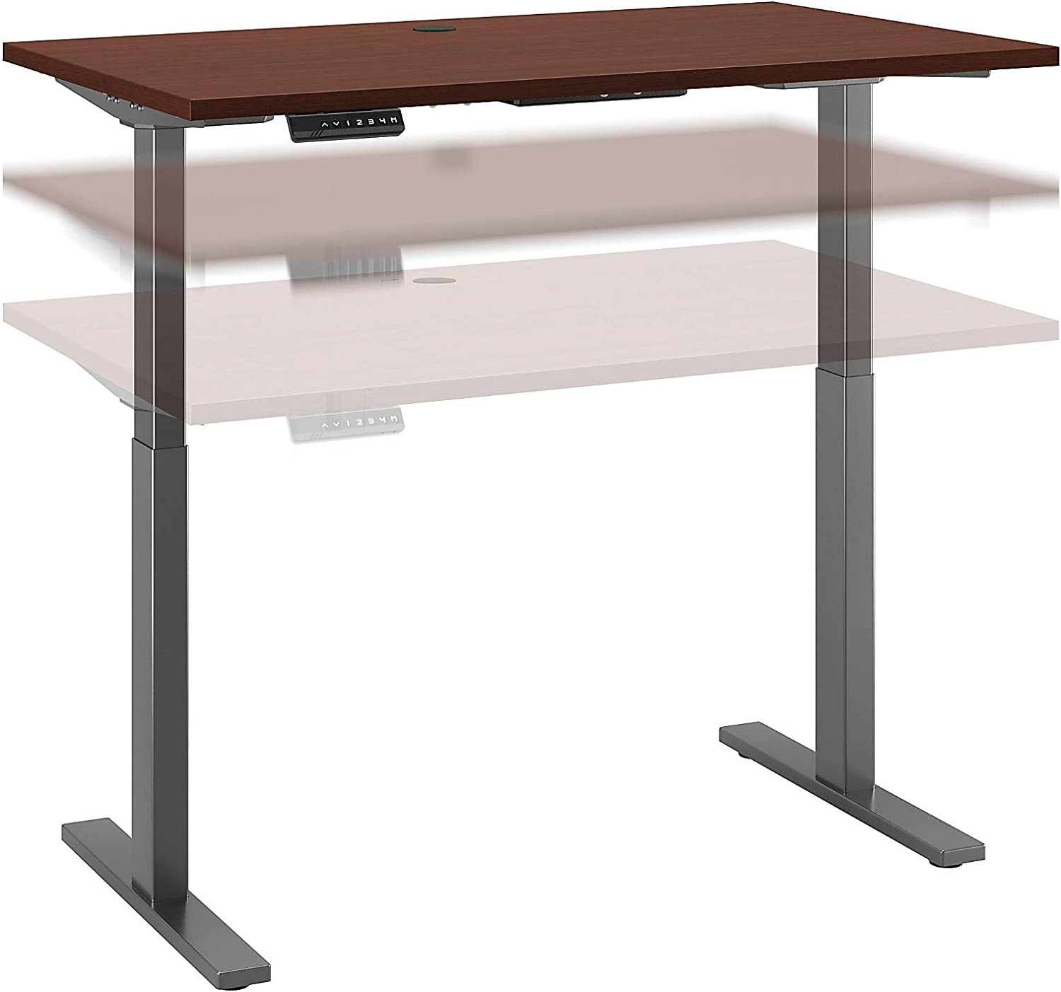 Bush Free shipping New Nippon regular agency Business Furniture Move 60 Height Standin Adjustable Series