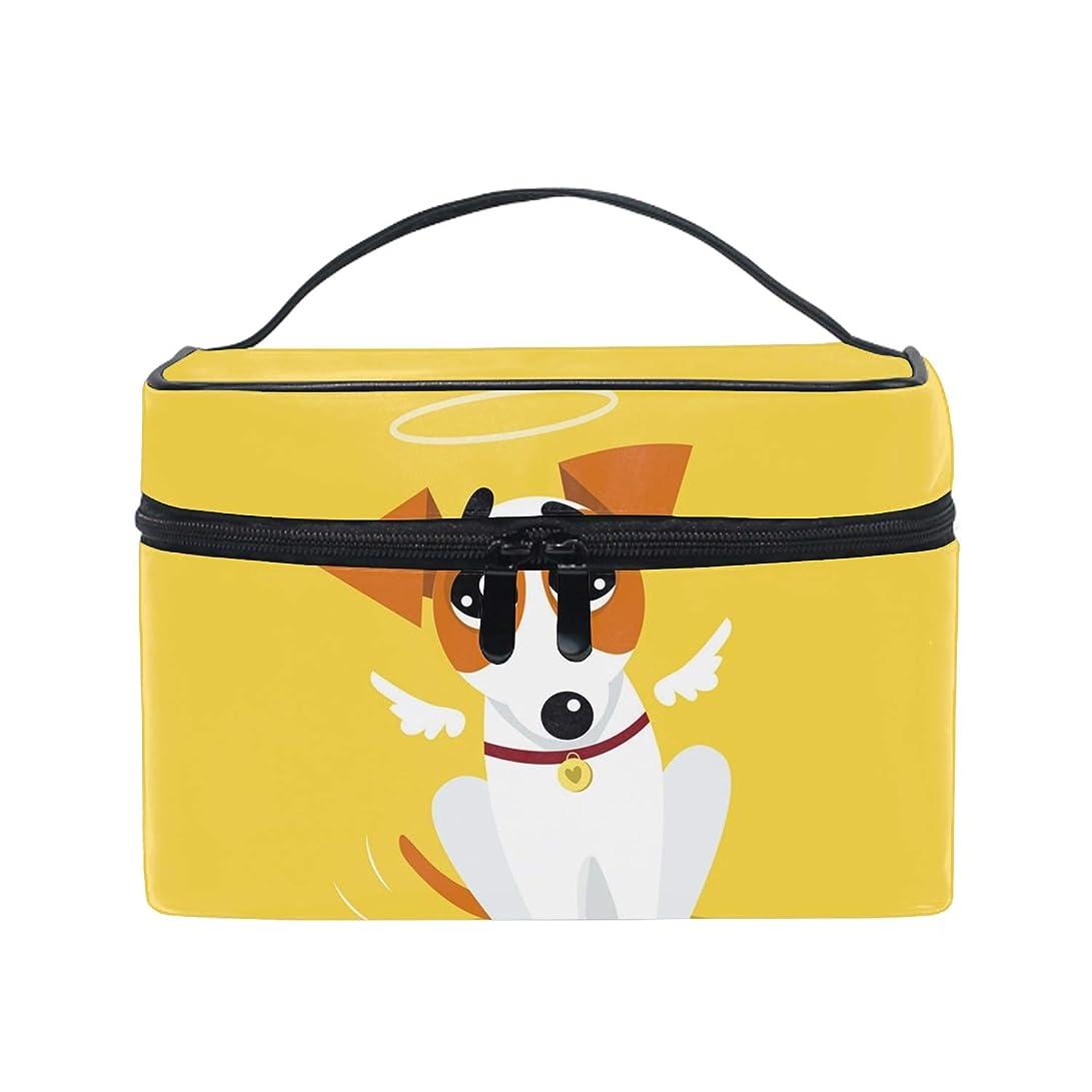 十分ではないブリーク収穫ユニーク Cute Jack Russell Terrier おしゃれな メイクアップバッグ メイク道具 小物 お財布 化粧品 軽く 化粧ポーチ