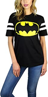 DC Comics Womens Varsity Football Tee