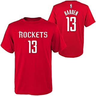 Outerstuff James Harden Houston Rockets #13 Red Youth Player Name & Number T-Shirt