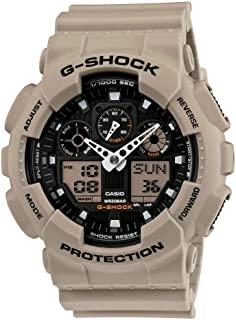GA-100 Military Series Watches - Tan/One Size
