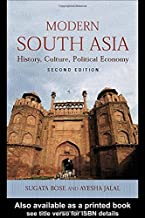 Modern South Asia History, Culture, Political Economy (Paperback, 2004) 2ND EDITION