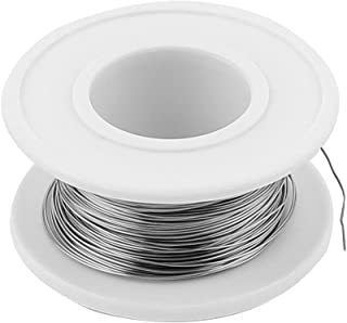 SOURCING MAP sourcingmap® 80 nicromio 0,3mm 28 AWG 115ft Rollo 4,87 Ohms/ft Cable calefactor