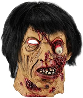 WXYXG Halloween Horror Ghost Mask Zombie Mask Death Demon Blood Face Mask Scary Props