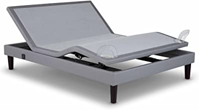 Spinal Solution 3 Positions Adjustable Bed with Dual 3 Speed Massage, Cal. King, Chocolate
