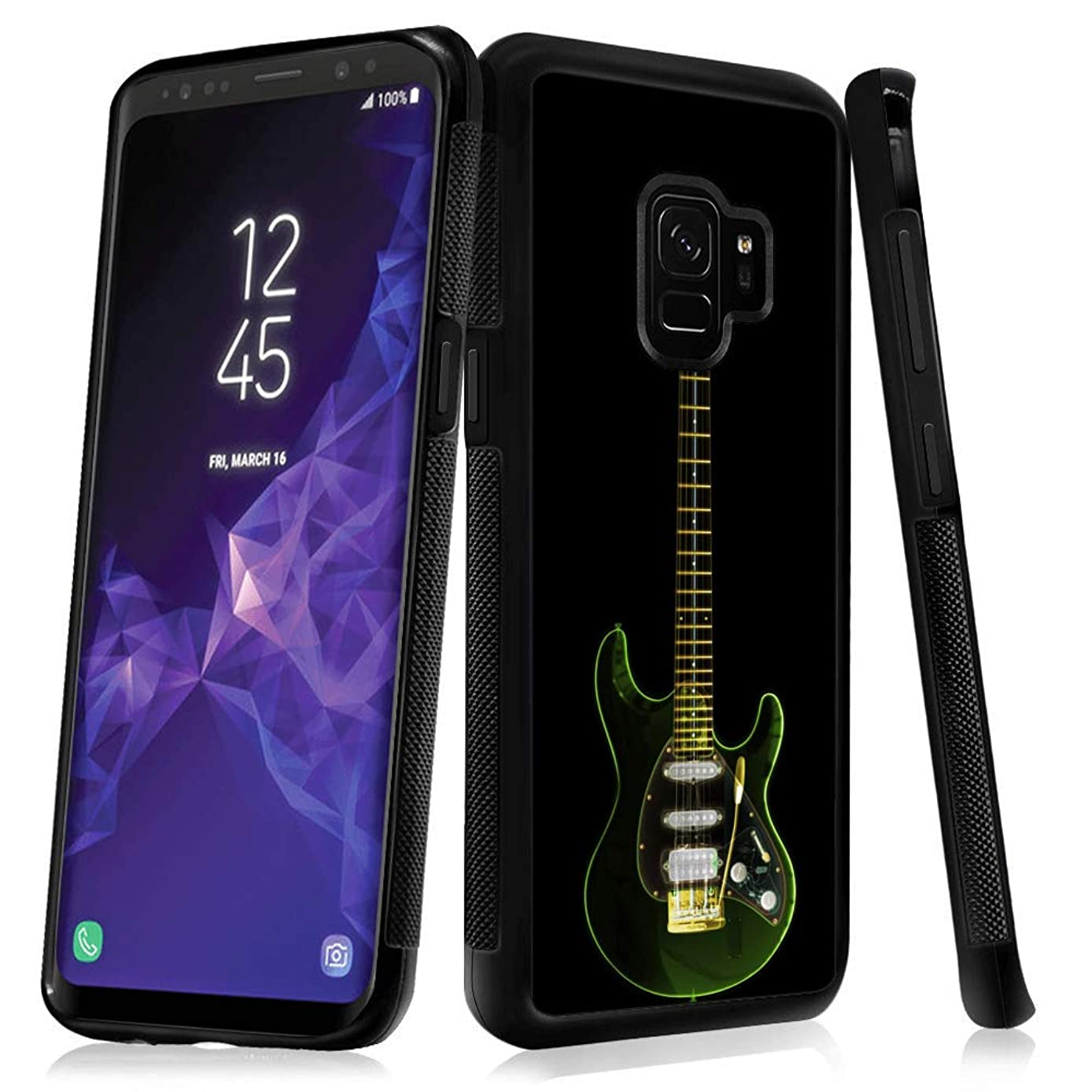 Samsung Galaxy S9 case Guitar Full Body Case Cover Screen Protector Heavy Duty Protection case Shockproof case for Samsung Galaxy S9