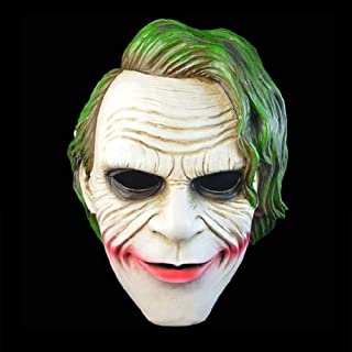 LFOZ Appearancees Horror Ghost Face Clown Halloween Christmas Funny Bar Dance Party Props Strange Resin Scary Mask