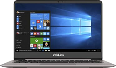 Asus ZenBook UX410UF-GV059T Laptop - Intel Core i7-8550U, 14-Inch FHD, 1TB, 8GB, 2GB VGA-MX130, Eng-Arb-KB, Windows 10, Grey