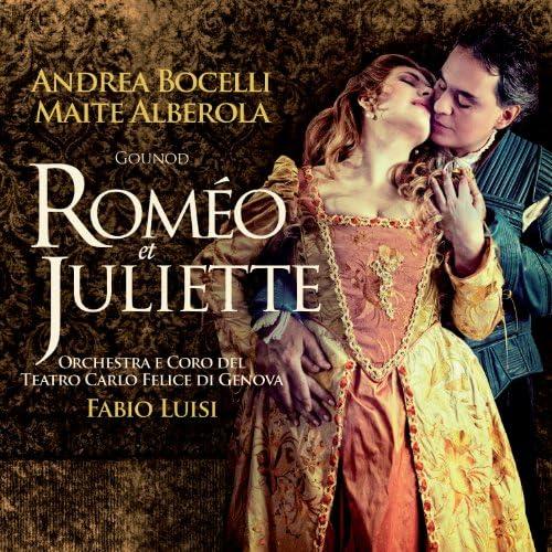 Andrea Bocelli, Maite Alberola, Coro del Teatro Carlo Felice, Orchestra del Teatro Carlo Felice & Fabio Luisi