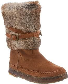 Kara Women Round Toe Fur Snow Boot
