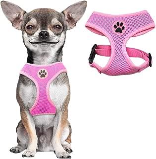 BINGPET Soft Mesh Dog Harness Pet Walking Vest Puppy Padded Harnesses Adjustable