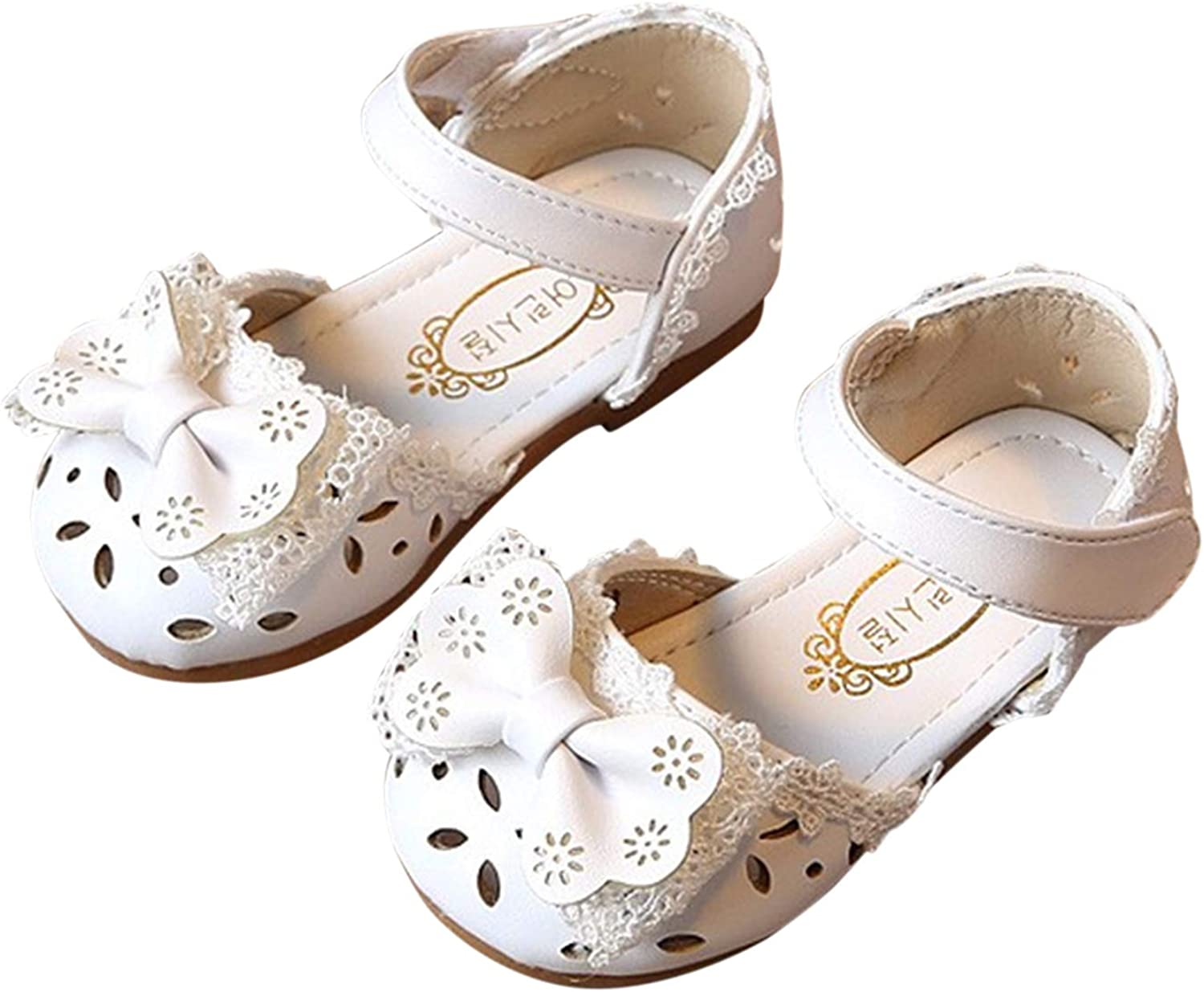 Durio Toddler Girl Sandals Non-slip Sole Over item Max 84% OFF handling Baby PU Rubber