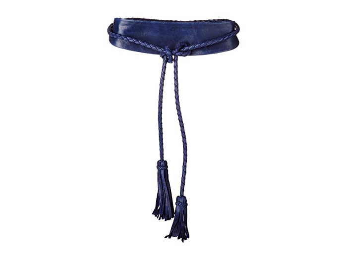 ADA Collection Lucky Wrap Belt (Marine Blue) Women