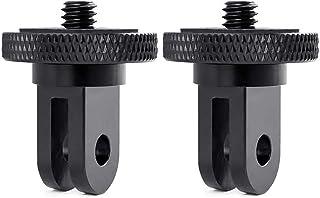Soporte de trípode para cámara GoPro, 2 adaptadores de con