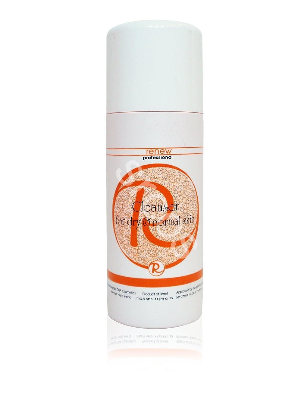 男やもめサイズ薄いですRenew Cleanser for Dry & Normal Skin 500ml