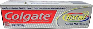Colgate Total Advanced Clean Paste Plus Whitening Toothpaste Travel Size - 0.75 oz, 4 Pack