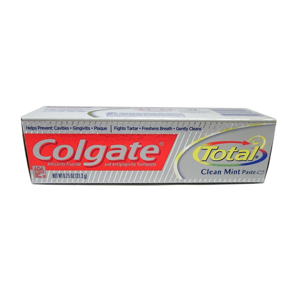 Colgate Total NEW before selling ☆ Clean Mint Toothpaste oz Discount mail order 4 0.88 Pack of