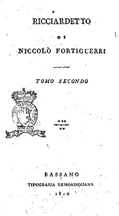 Ricciardetto di Niccolò Fortiguerri - Tomo Secondo