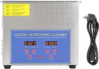Pulitore Ad Ultrasuoni, Professionale Pulitore Ultrasuoni per Gioielli, Pulitore Ultrasuoni Display Digitale Con Timer per...