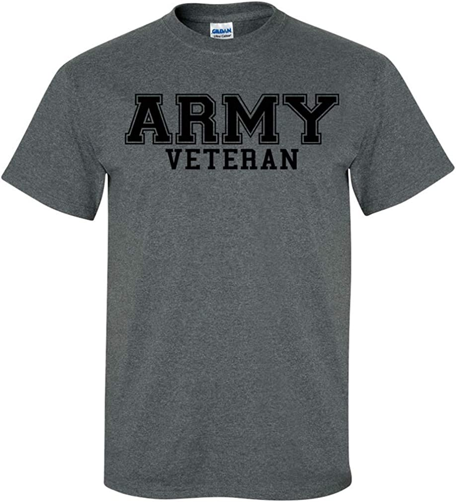 zerogravitee supreme Omaha Mall Army Veteran Black Sleeve T-Shirt Short Logo