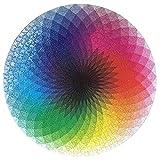 RHSML 1.000 Piezas Redondas Rompecabezas, Creativo Colorido del Arco Iris difícil de Big Gradiente Juego de Rompecabezas para la Educación del Alivio de tensión Juguete