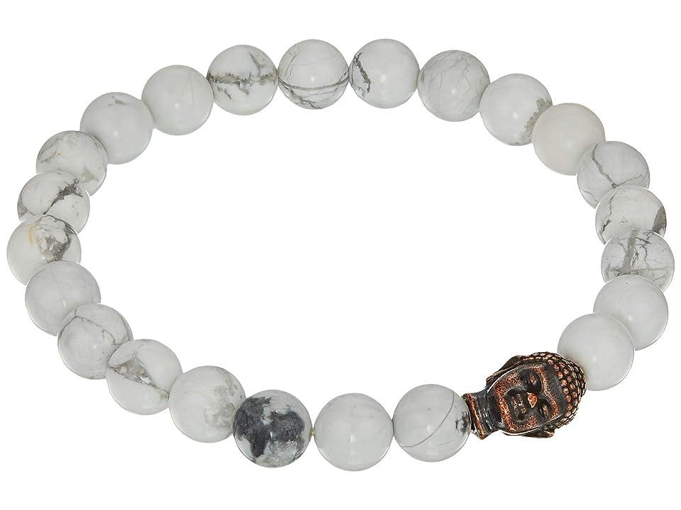 Dee Berkley - Dee Berkley Buddha Bracelet with Howlite