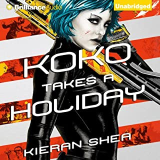 Koko Takes a Holiday audiobook cover art