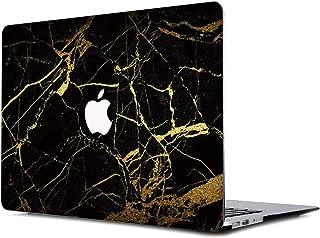 Estuche rígido de goma de Onkuey con cubierta dura para MacBook Air de 13 pulgadas (modelo: A1369 y A1466), mármol negro y...