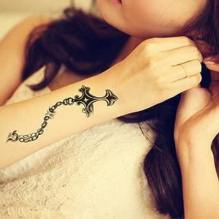 jesus on the cross arm tattoo