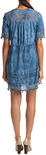 French Connection Women's Florence Lace Short-Sleeve Dress