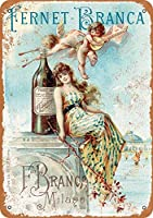 Fernet-Branca Liqueur 金属板ブリキ看板警告サイン注意サイン表示パネル情報サイン金属安全サイン