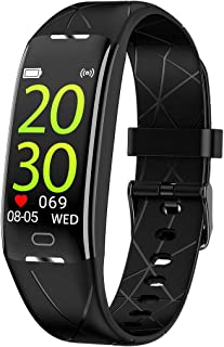 Fitness Tracker with Heart Rate Monitor,Sports Calorie Burn Tracker IP68 Waterproof Pedometer Watch with Sleep Tracker for Kids Women and Men