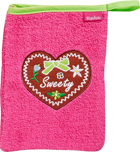 Playshoes 340080 Waschhandschuh Sweety, rosa